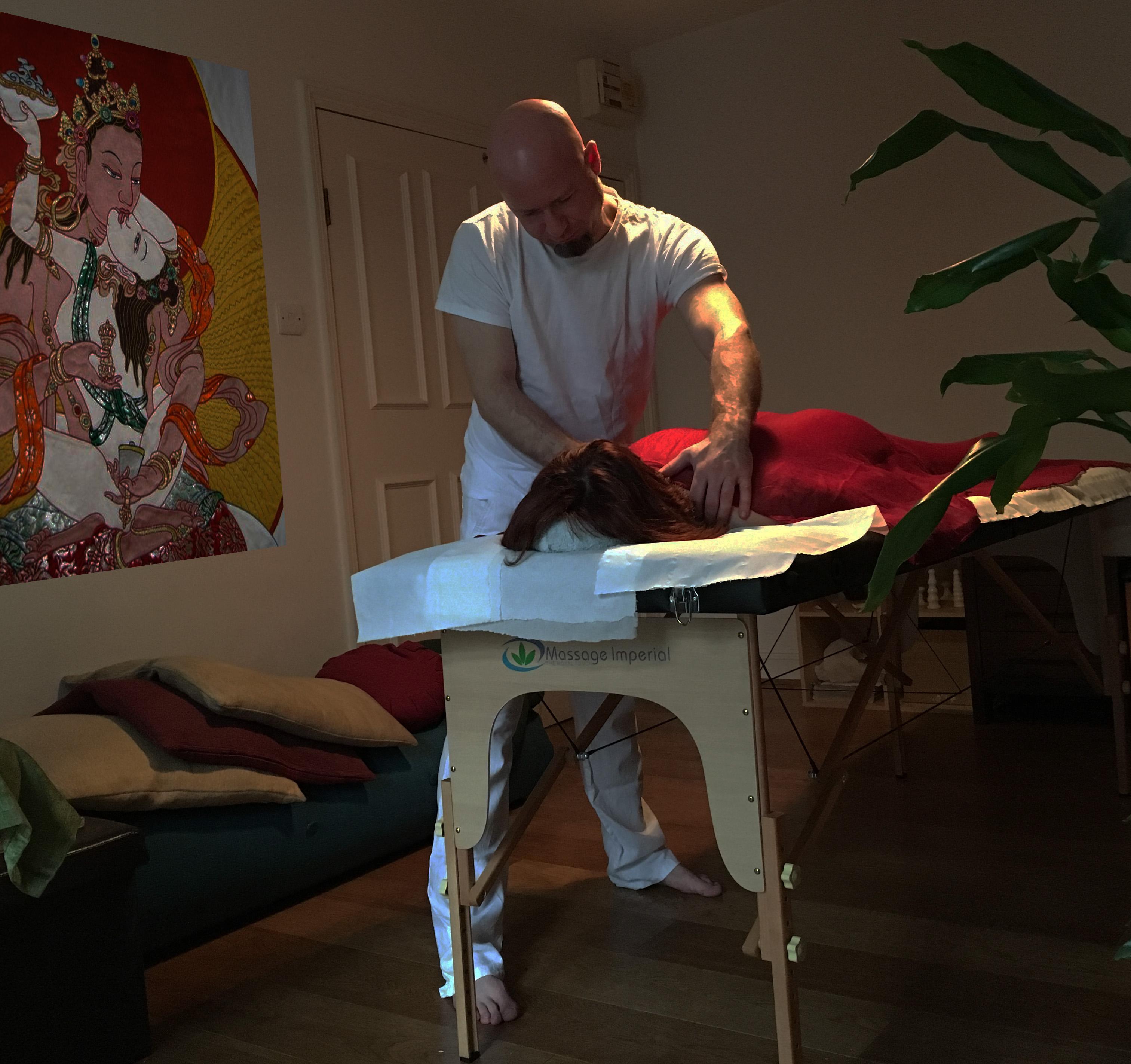 The tao massage session - 1 part 2